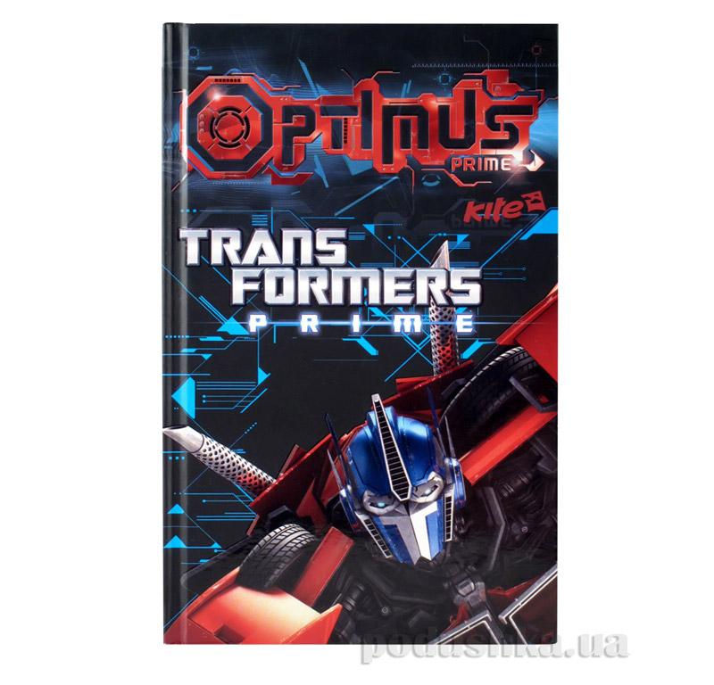 Блокнот с твердой обложкой Kite Transformers TF14-227K
