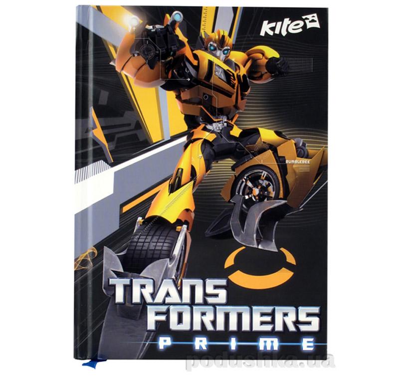 Блокнот с твердой обложкой Kite Transformers TF14-228K