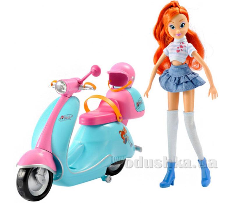 Блум и ее скутер Winx