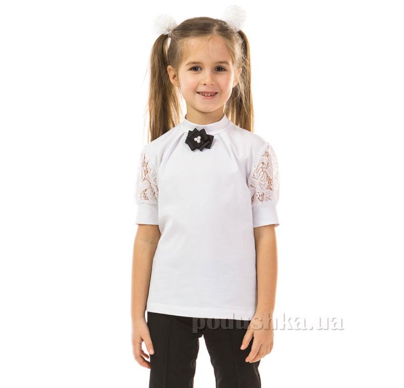 Блуза для девочки Kids Couture 17-163 белая