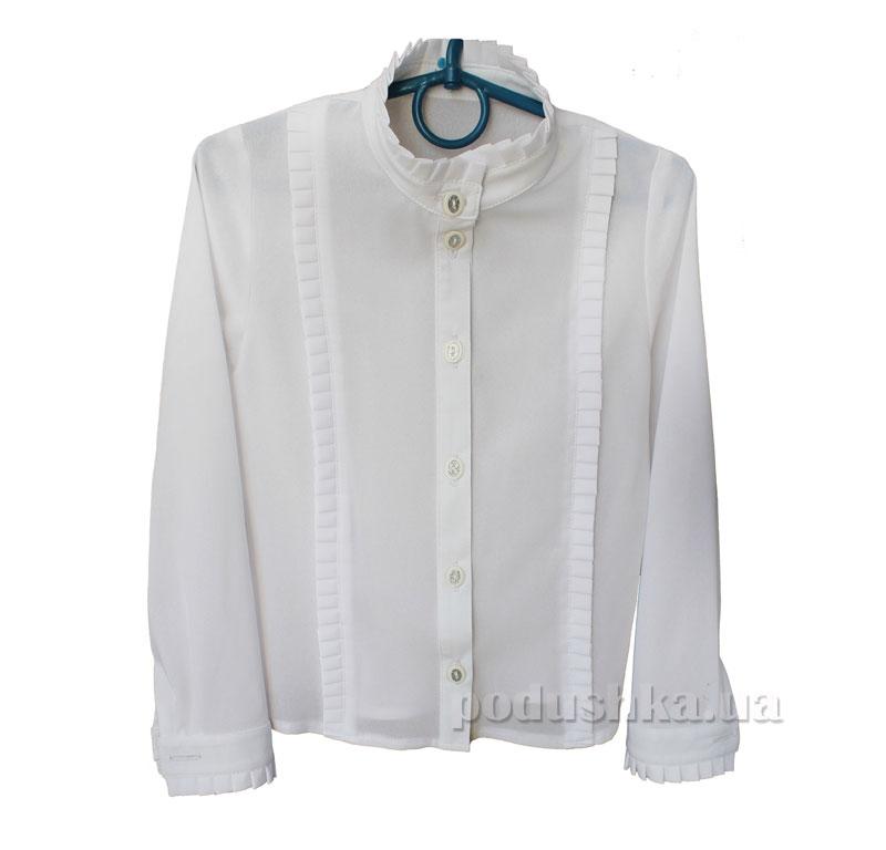 Блуза для девочки Промiнь ВД 0631 белая
