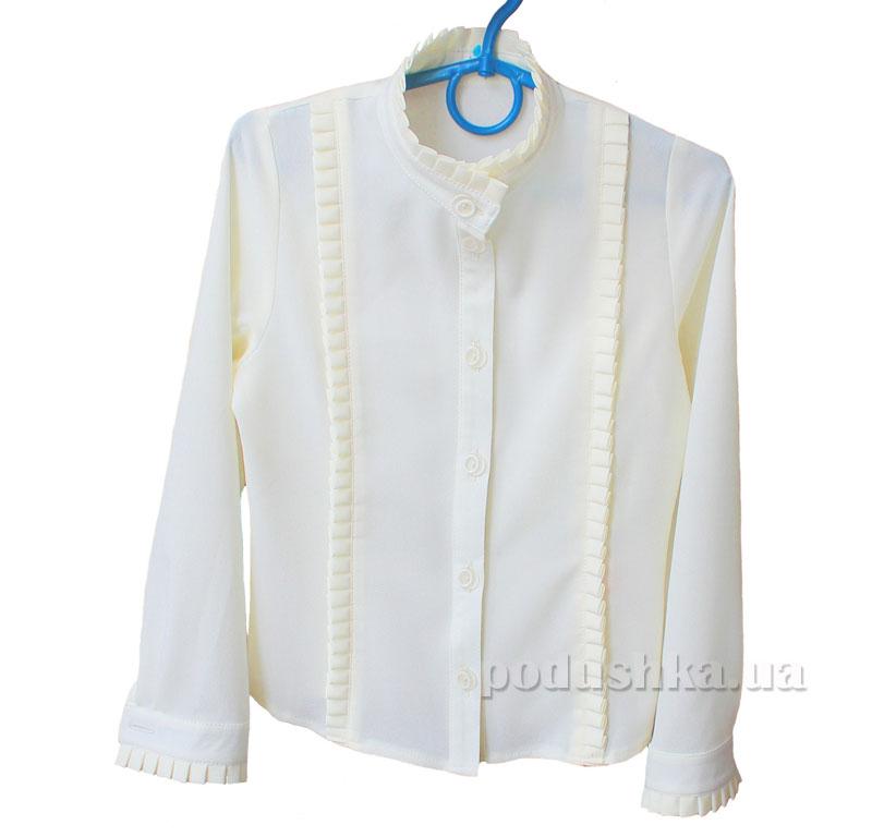 Блуза для девочки Промiнь ВД 0631 молочная