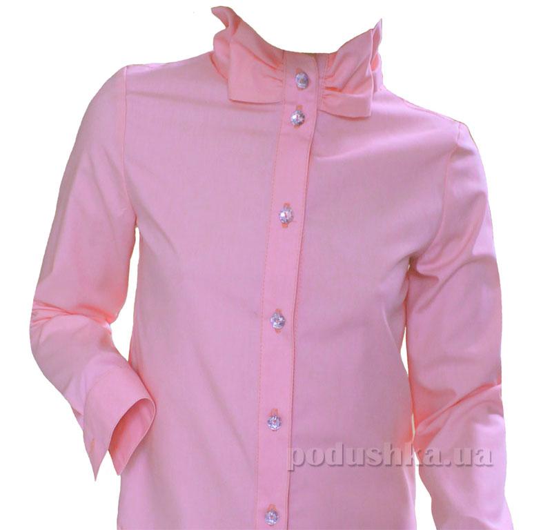 Блуза для девочки Промiнь ВД-1634. розовая