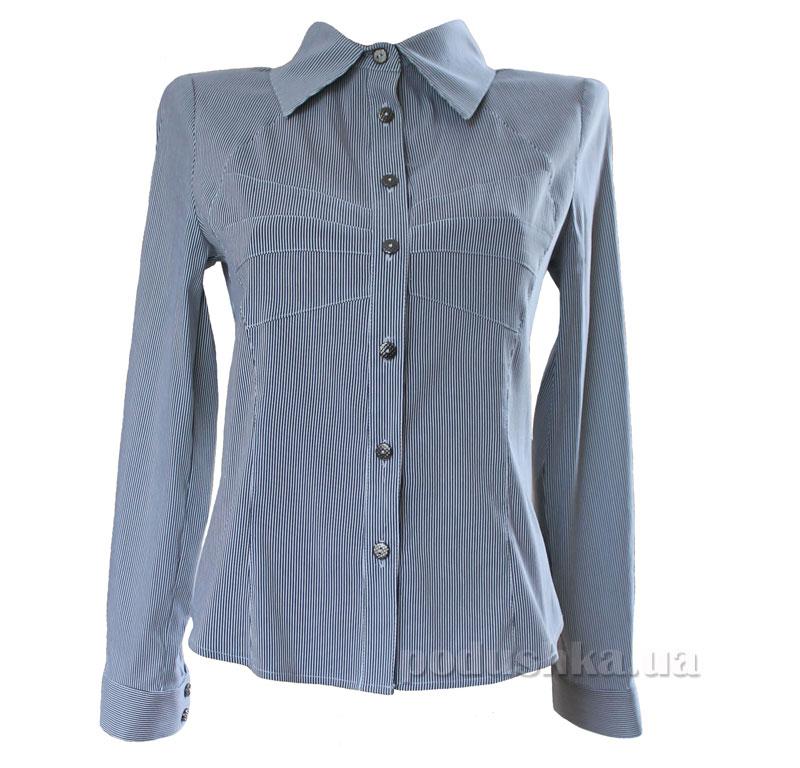 Блуза для девочки Промiнь ВД-1636 серая в полоску