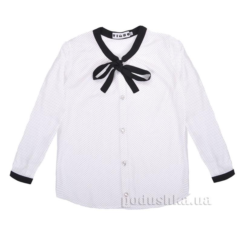 Блуза Klara Timbo R010201 в горошек