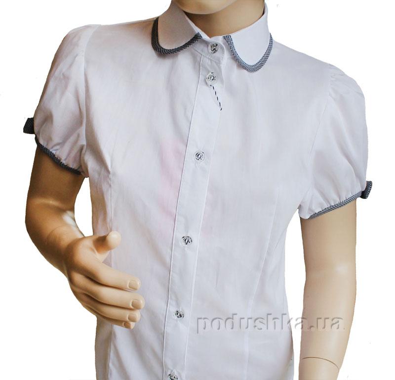 Блуза Окантовка Промiнь ВД-1362 белая