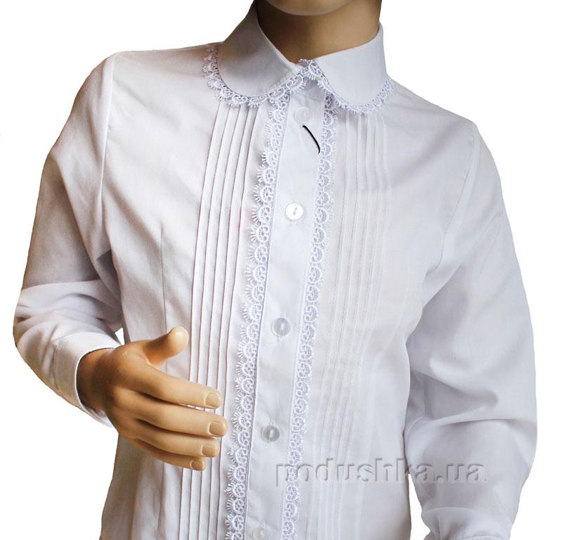 Блуза Реснички Промiнь Вд-1354 белая