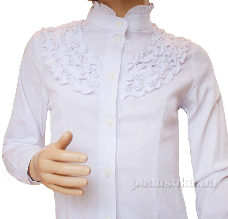 Блуза Рюши Промiнь ВД-0902 белая