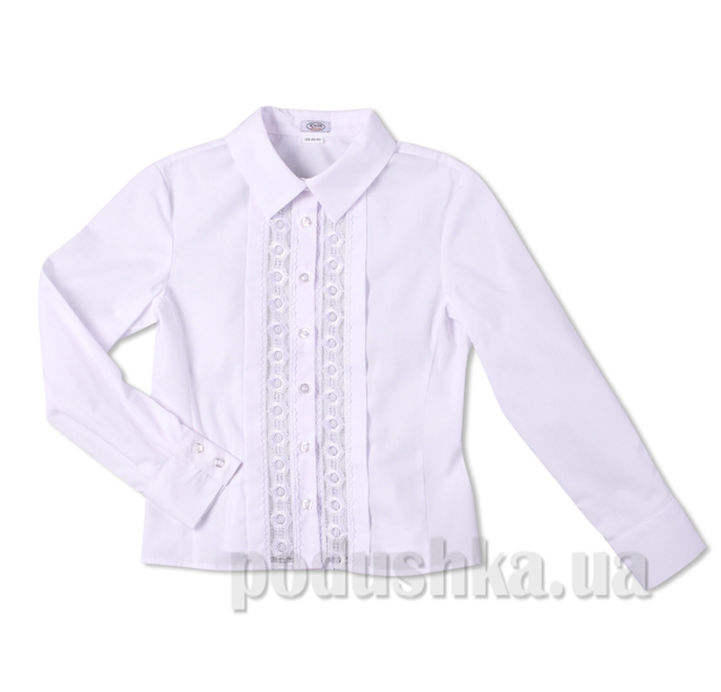 Блуза с кружевными вставками Юность 304