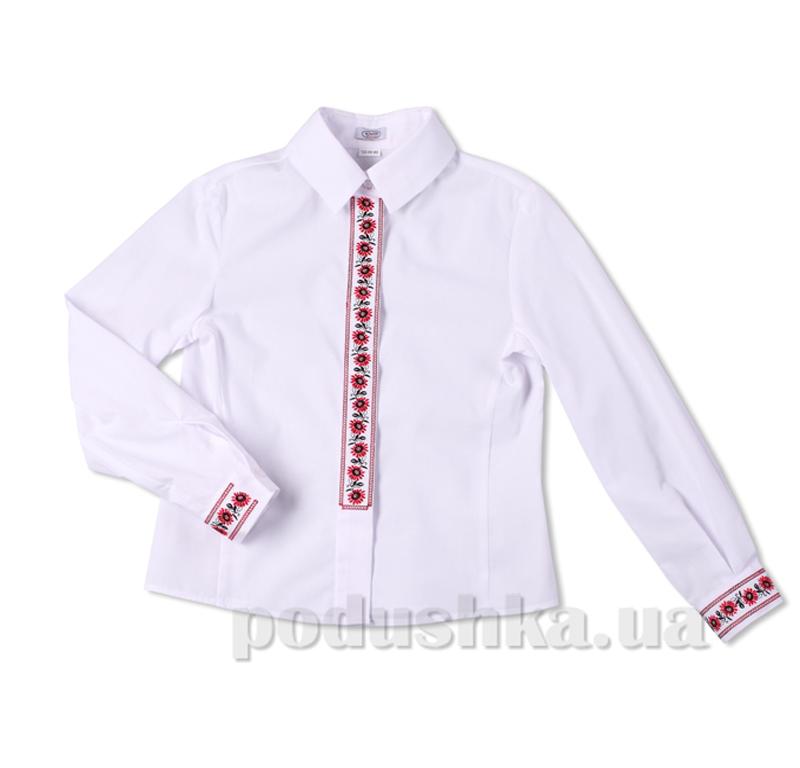 Блуза с вышивкой Юность 306