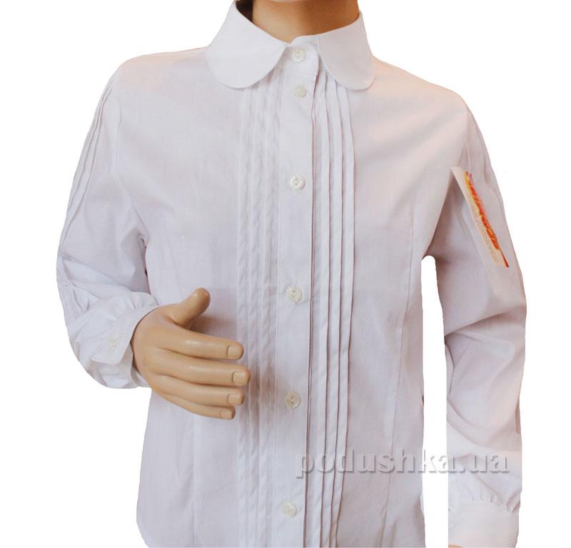 Блуза Защипы Промiнь ВД-0935 белая