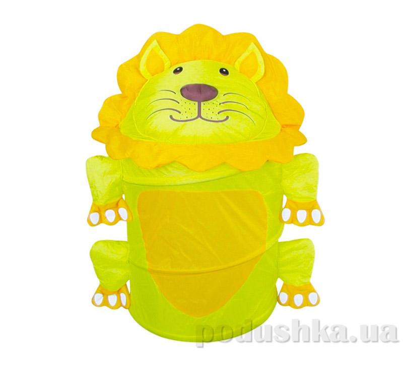 Бочка для игрушек Львенок Devik play joy T0339L