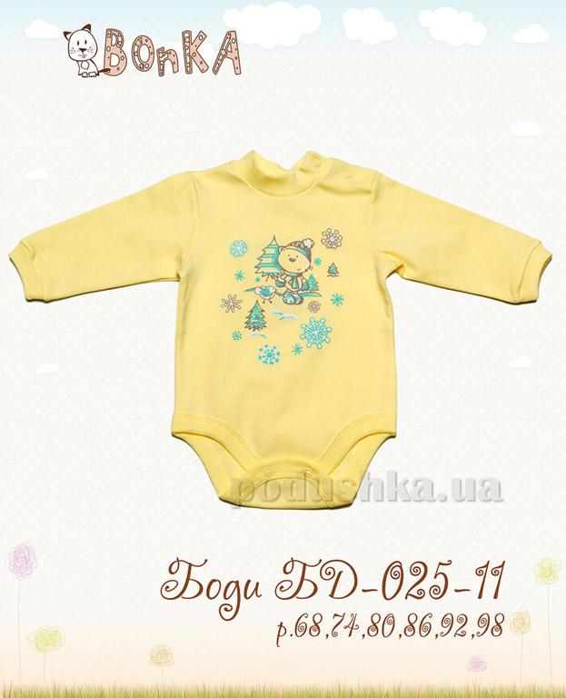 Боди Bonka БД-025-11 лимон