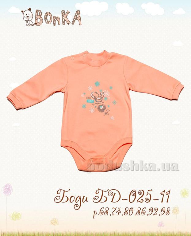Боди Bonka БД-025-11 персик