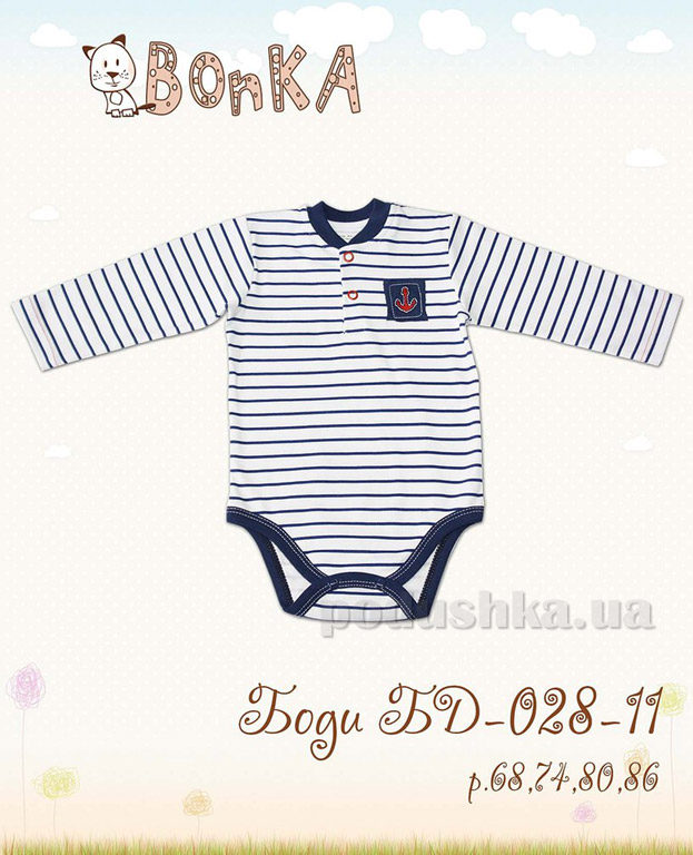 Боди Bonka БД-028-11 полоска