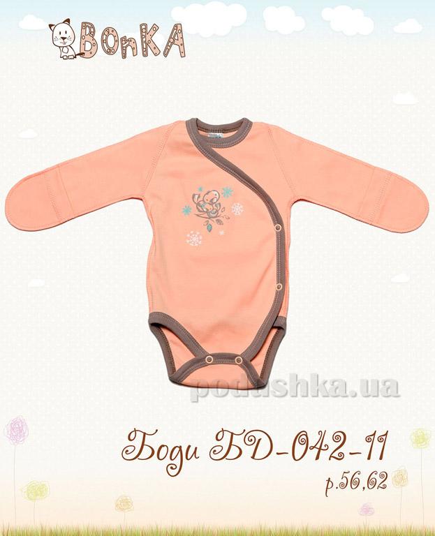Боди Bonka БД-042-11 персик