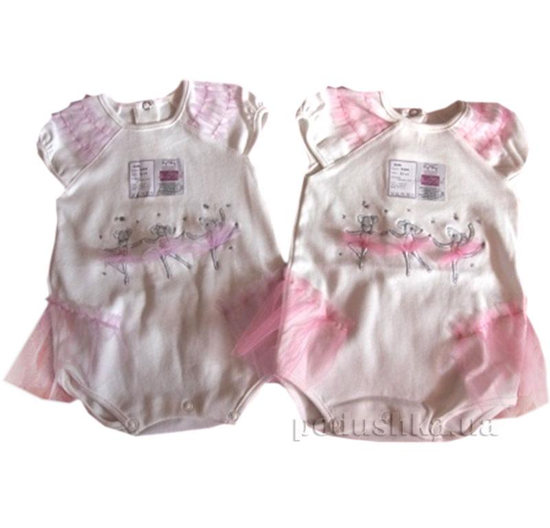 Боди для девочки Балеринки Baby Life 9-043 интерлок