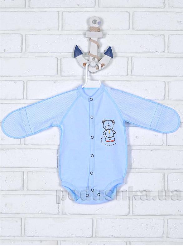 Боди для малышей Татошка 146537 голубое