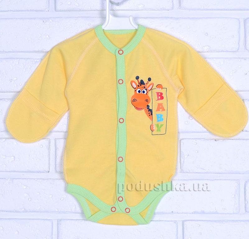 Боди для малышей Татошка 14653 желтое
