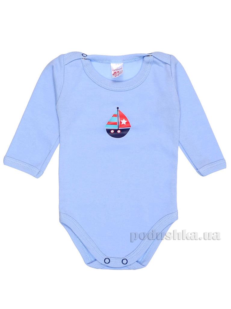 Боди для малышей Татошка м146587 интерлок голубой