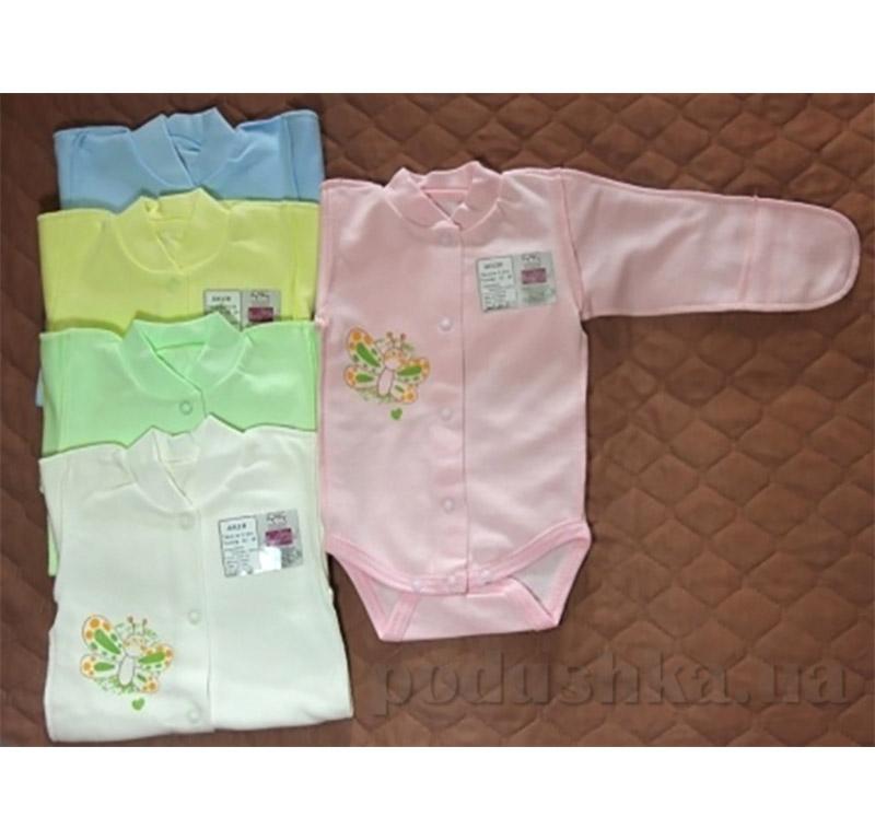 Боди для новорожденного интерлок Baby Life 9-031н