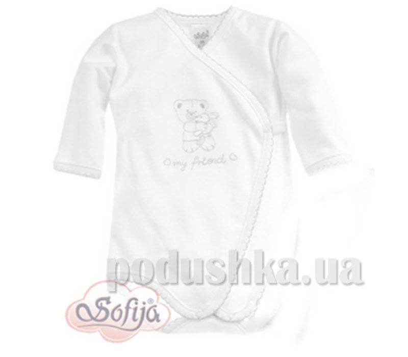 Боди Крошка хлопок белый Sofija 416c/24-56