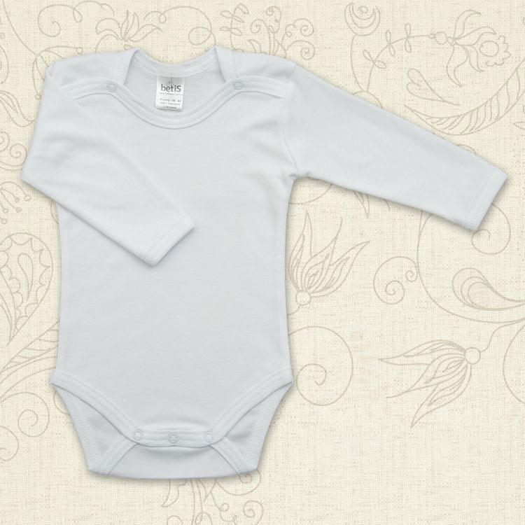 Боди с длинным рукавом для малышей Класичний Бетис интерлок