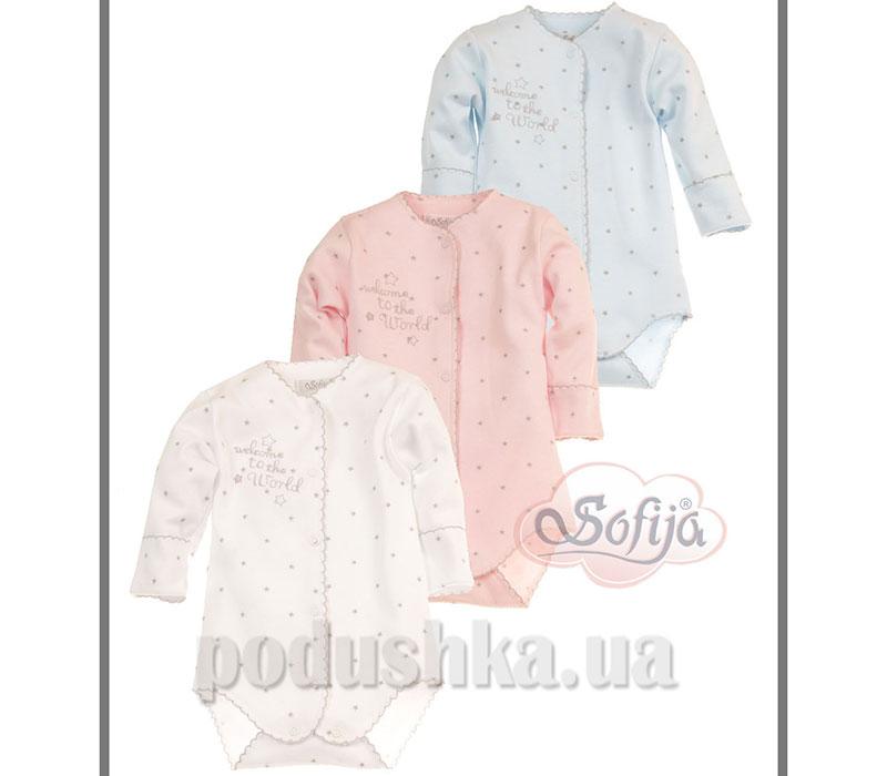 Боди Звездочка хлопок Sofija 112c-68