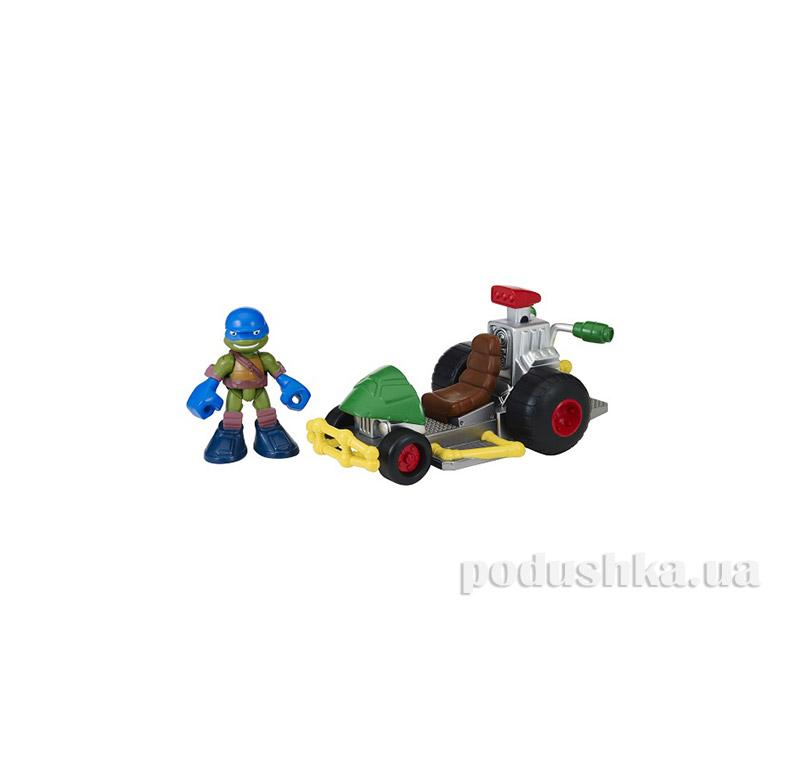 Боевой транспорт с фигуркой серии малыши Черепашки Ниндзя TMNT 96701