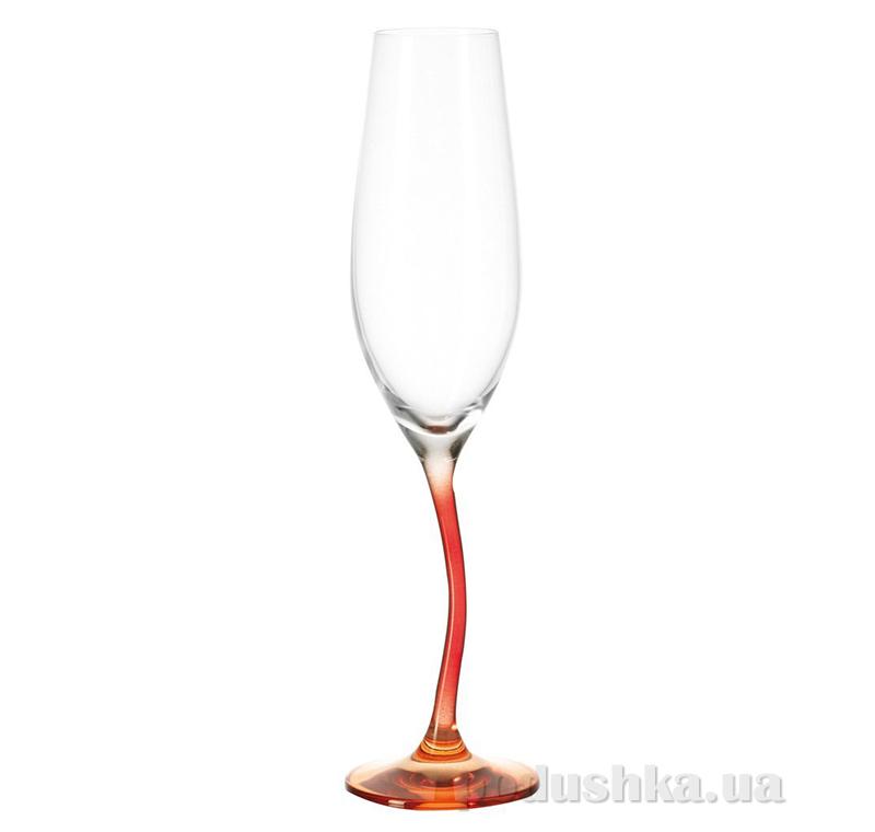Бокал для шампанского Leonardo Modella красный