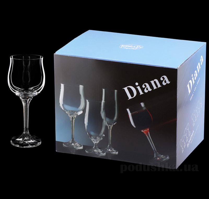 Бокалы для вина Diana 230мл Bohemia