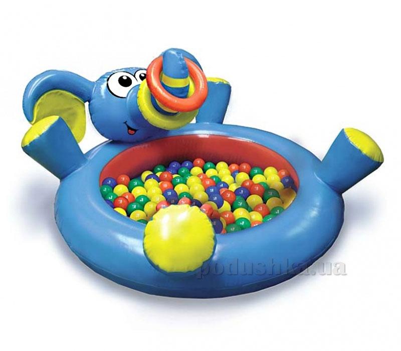 Большой бассейн Play WOW Слоненок с кольцами 3061PW