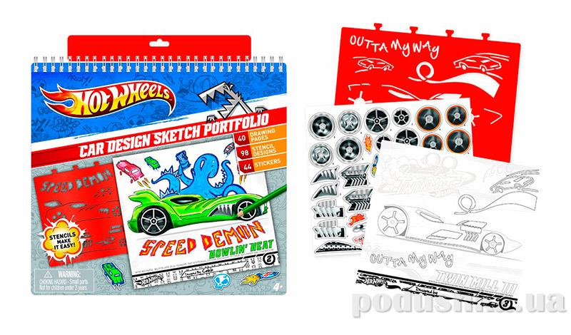 Большой набор для творчества Hot wheels Хот Вилс Дизайн 46803 Fashion Angels