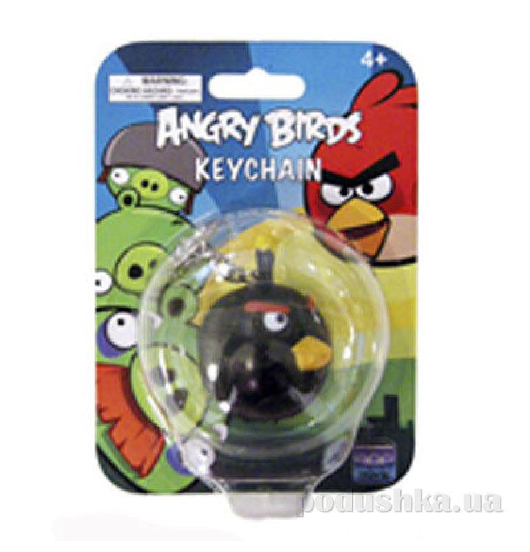 Брелок фигурный Angry Birds птичка черная 92254