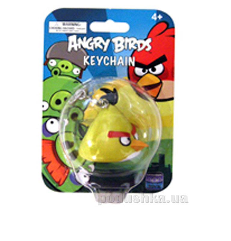 Брелок фигурный Angry Birds птичка желтая 92255