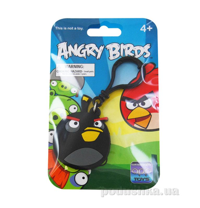 Брелок на рюкзак Angry Birds птичка черная 91949