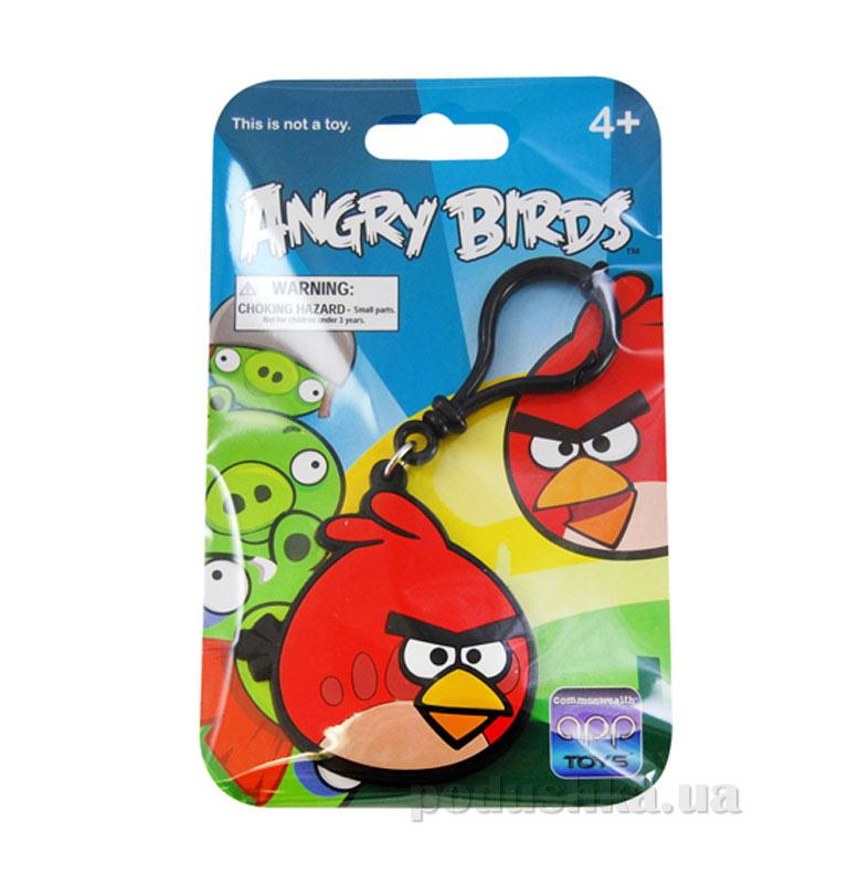 Брелок на рюкзак Angry Birds птичка красная 91947