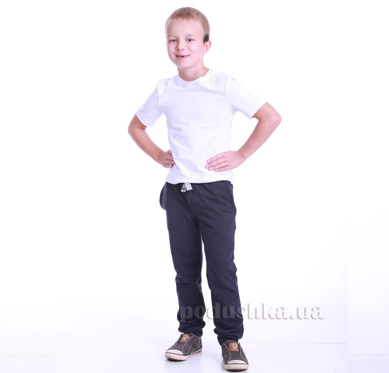 Брюки для мальчика Димакс БРМ 530 графит