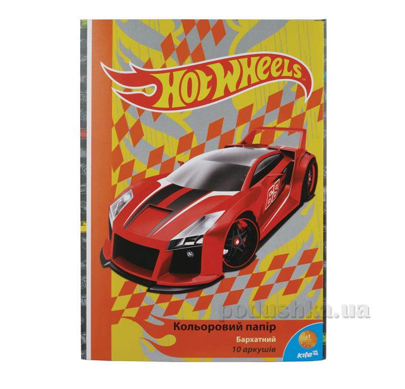 Бумага цветная бархатная Hot Wheels HW15-251K