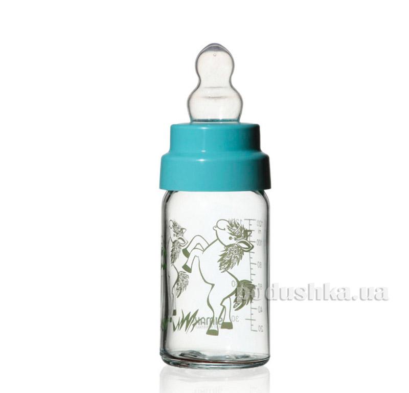 Бутылочка детская с соской 125 мл Simax Лошадка