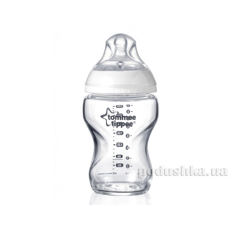 Бутылочка для кормления Tommee Tippee Closer To Nature 250 мл 42243877