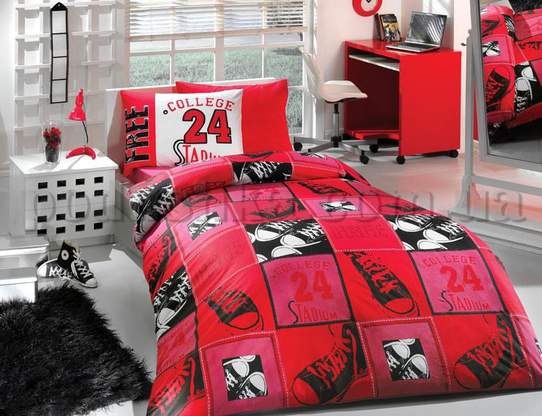 Постельное белье Hobby College красный