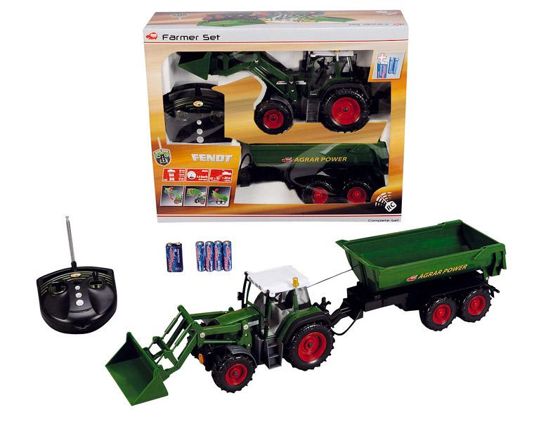 Трактор с прицепом на ДУ Walkie Talkie & RC