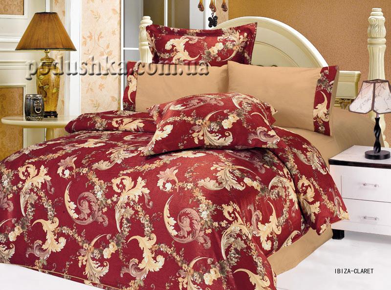 Комплект постели Ibiza-Claret