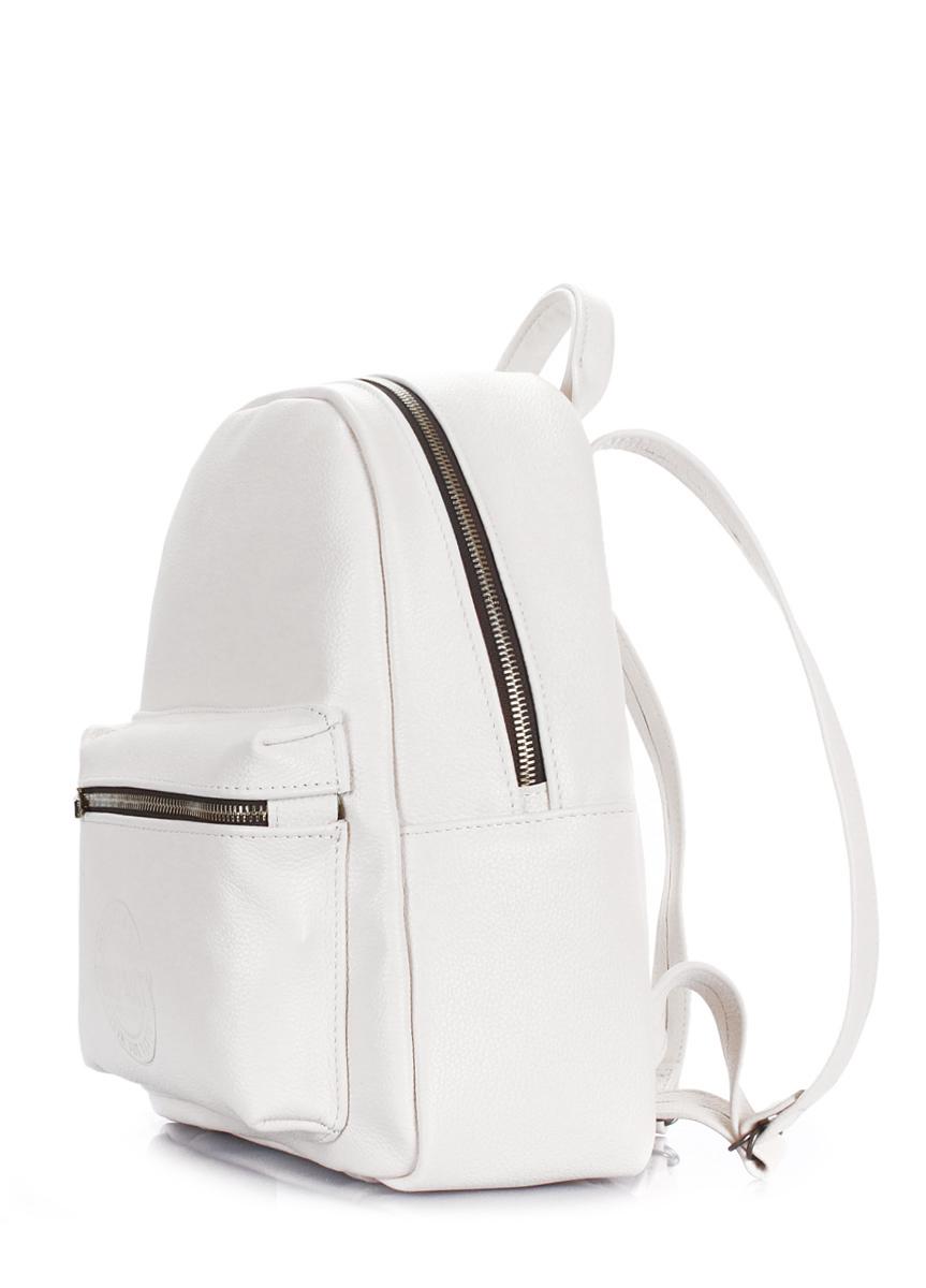 41590af22b0b Рюкзак женский кожаный Poolparty Xs Bckpck leather white купить в ...