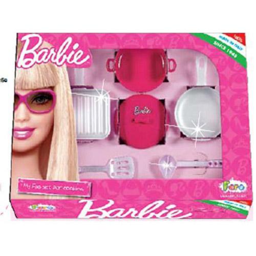 Набор посуды - Барби столовый (6 предметов)
