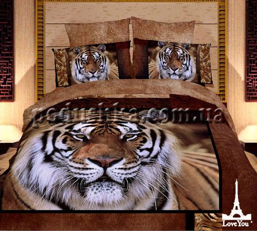 Постельное белье Тигр, Love You
