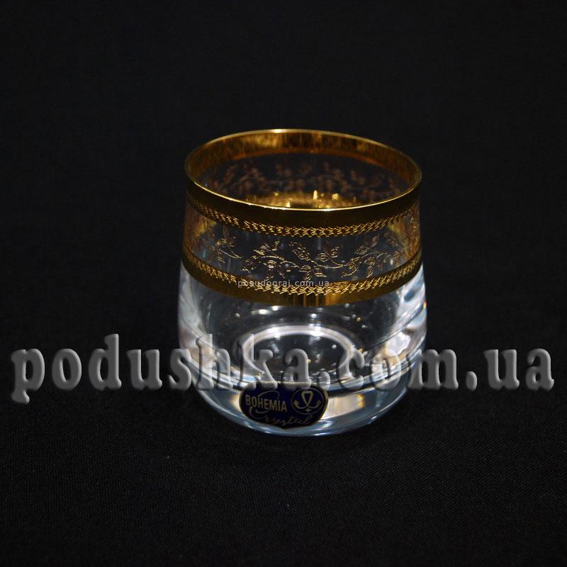 Стопки Iside GOLD 6шт Bohemia