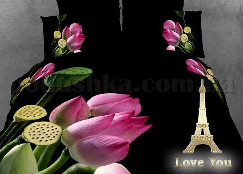 Постельное белье Love You Цветы лотоса
