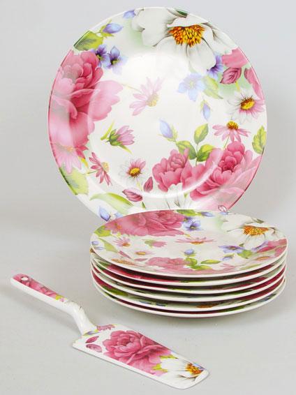 Набор для торта Розовый пион Бонади